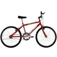 Bicicleta Aro 26 Masculina Dalannio Bike Sport Sem Marcha Vermelha